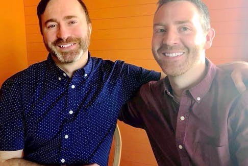 Through visibility and conversation, Evan Parsons, left, and Trevor Taylor, co-directors of Fogo Island Pride, are hoping the group's formation can help provide youth and adults with an environment that is supportive of their true selves.