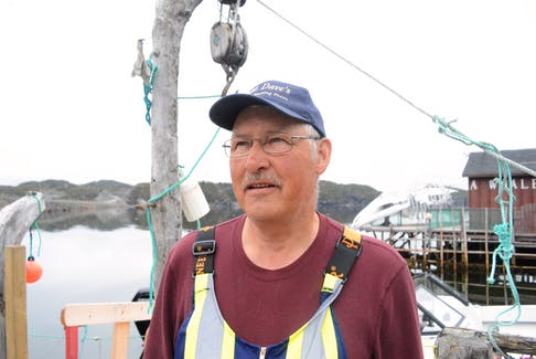 """David Boyd of Twillingate says ensuring a future for younger people in the province's fishery is crucial, or else """"we will have lost that which has defined us as a people for centuries."""""""