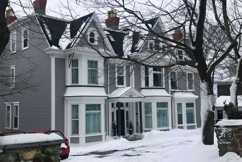 Certificates of recognition were awarded to Jennifer and Kirk Anderson for Canada House at 74 Circular Rd. in the category of preserving or restoring the original character of a Heritage Building.