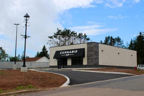 The Cannabis NB location in Sackville, N.B.