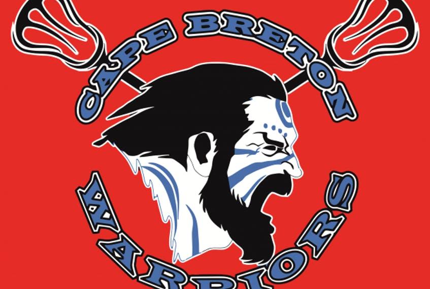 Cape Breton Warriors lacrosse team.