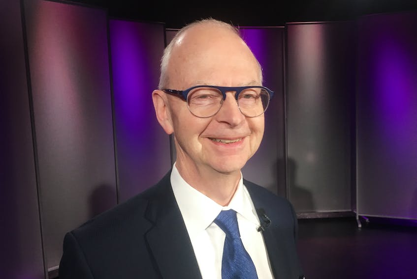PC leader Ches Crosbie.