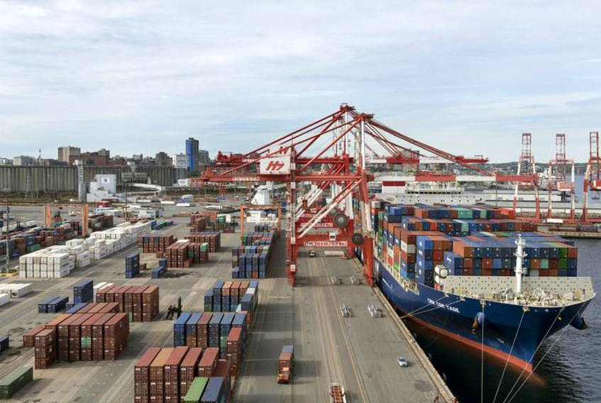 CMA CGM Tage, the biggest container vessel to ever call on the Port of Halifax, may be a sign of new trend of larger ships arriving in our harbour.