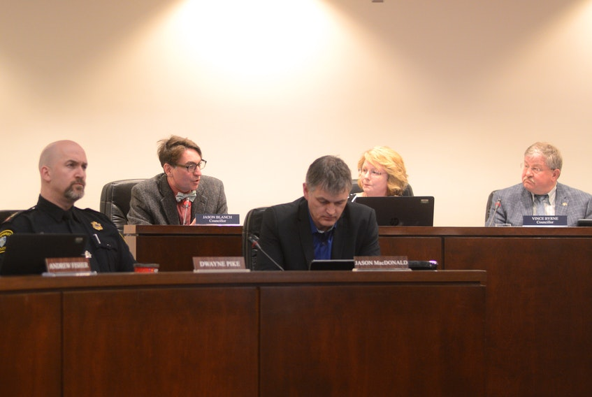 Before voting in favour of a pay increase, Amherst town councillor Jason Blanch explained how he came to his decision.