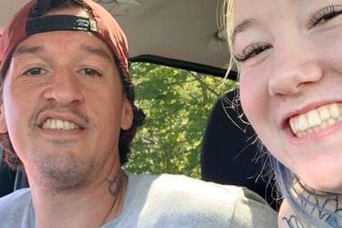 Miranda Taylor and Kaz Henry Cox are shown together in a selfie posted on her Facebook page. Cox is charged with first-degree murder in the July 2019 shooting death of Triston Reece in Halifax, while Taylor is charged with being an accessory after the fact and two counts of intimidation.