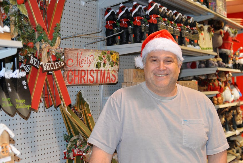 Greg Butler, owner and operator of Christmas Discounters, is planning to open two new year-round stores next year, including one in Charlottetown. TERRENCE MCEACHERN