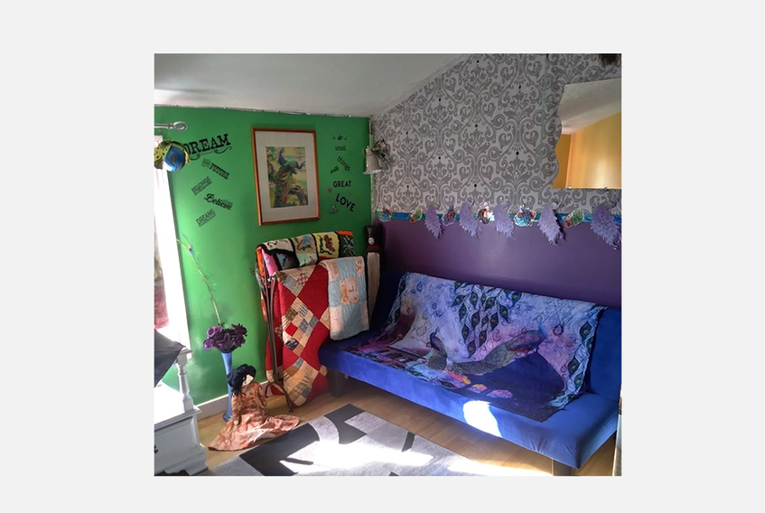 Zelda Stevenson, of Aylesford, N.S., says she has finally gotten around to updating her office and has only used supplies she found at home. She challenges others to look deeply in closets, basements and sheds to find materials and come up with some fantastic house projects.