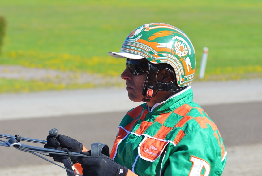 Gilles Barrieau recorded four driving wins on Saturday night's harness racing card at Red Shores Racetrack and Casino at the Charlottetown Driving Park.