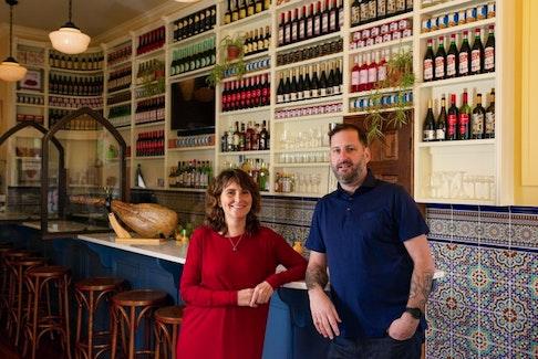 Sylvie and Martin Ruiz Salvador are getting ready to open Bar Salvador in Lunenburg on April 1. Andrew Donovan