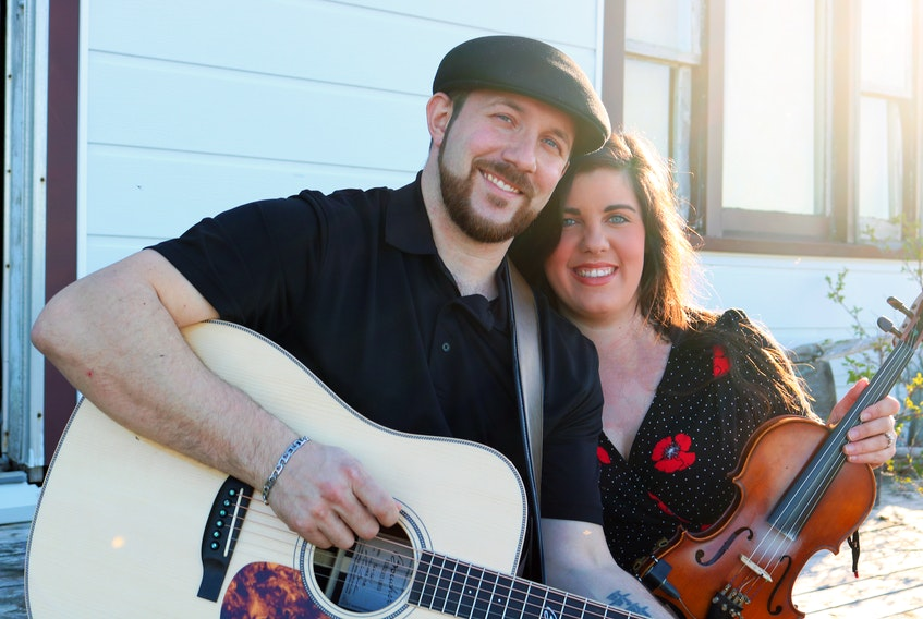 Jay and Krista Luddington are Eastbound; a Mulgrave-based musical act who are celebrating their debut album with a release party/concert Aug. 2.