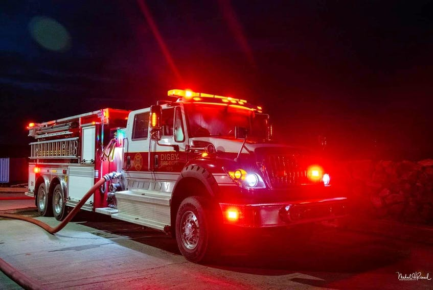 Two people died in a fire at a house in Digby on Saturday. Firefighters were called to the blaze on Montague Row at 5:47 a.m.