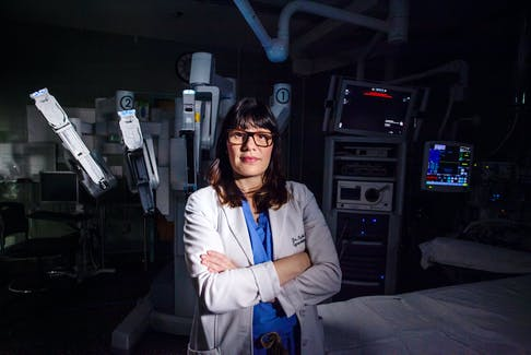Access to Atlantic Canada's first surgical robotics technology is enabling cancer surgeons, like Dr. Karla Willows, to offer more minimally invasive procedures to the patients they treat. The entire project will be funded by QEII Foundation donors. Photo Courtesy QEII Foundation.