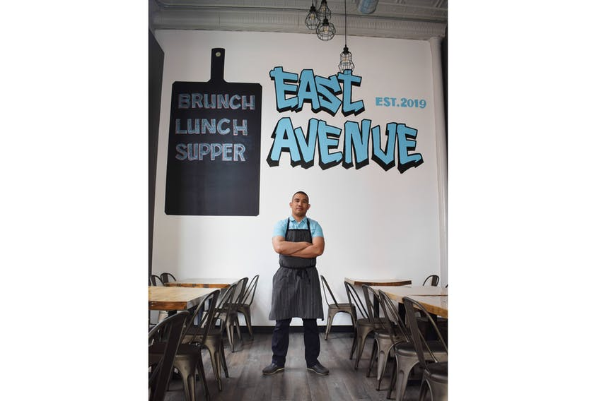 Charles Quintanilla is looking forward to opening his new restaurant East Avenue in downtown New Glasgow.