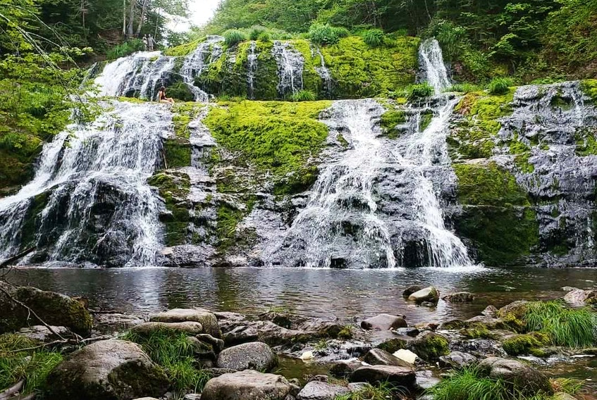 Egypt Falls is located in Scotsville, Cape Breton Island. - Photo Courtesy Daniel Pelletier.