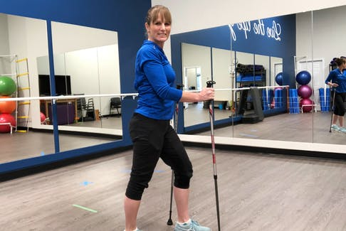 Using walking poles can be a great way to improve your walking quality. - Photo Contributed.