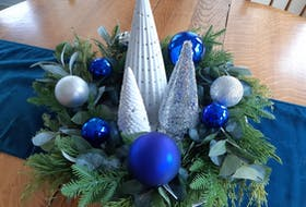 Be creative with colours this holiday season and find items that suit your style. - Photo Janet Armstrong.