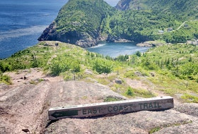The East Coast Trail has plenty of hiking paths to explore, including Sugarloaf Path. - Photo Courtesy Julia Penney.