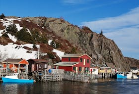 """To say that Quidi Vidi is picturesque is an understatement!  Quidi Vidi is a neighbourhood in St. John's. The frequently photographed village is adjacent to Quidi Vidi Lake; Quidi Vidi's harbour is known as """"The Gut"""".  Thanks again, Gary Mitchell, for sharing!"""