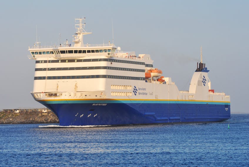 High winds are delaying Marine Atlantic sailings this morning. J.R. Roy/ Special to the Gulf News