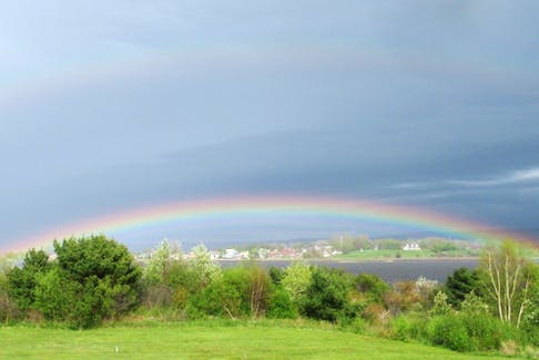 Brian Hay captured this rainbow with his camera near Granville Ferry, N.S.