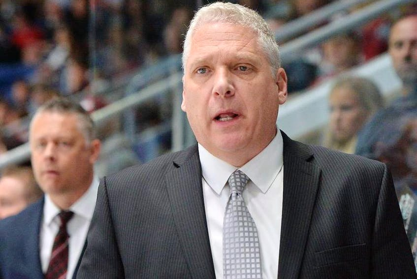 Head coach George Burnett leads the OHL champion Guelph Storm into the Memorial Cup in Halifax