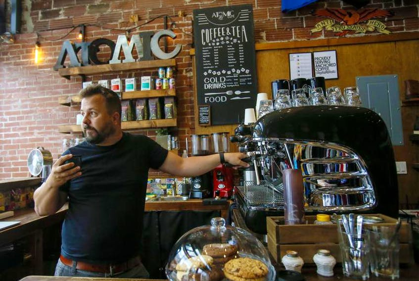 This Saturday Brian Larter is going close his Atomic Cafe in Pro Skates on Quinpool Road for good. He says there were a combination of factors that encouraged him to make the move.