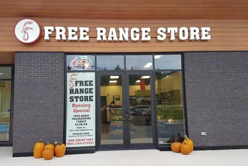 The Free Range Store just opened at 1181 Larry Uteck.