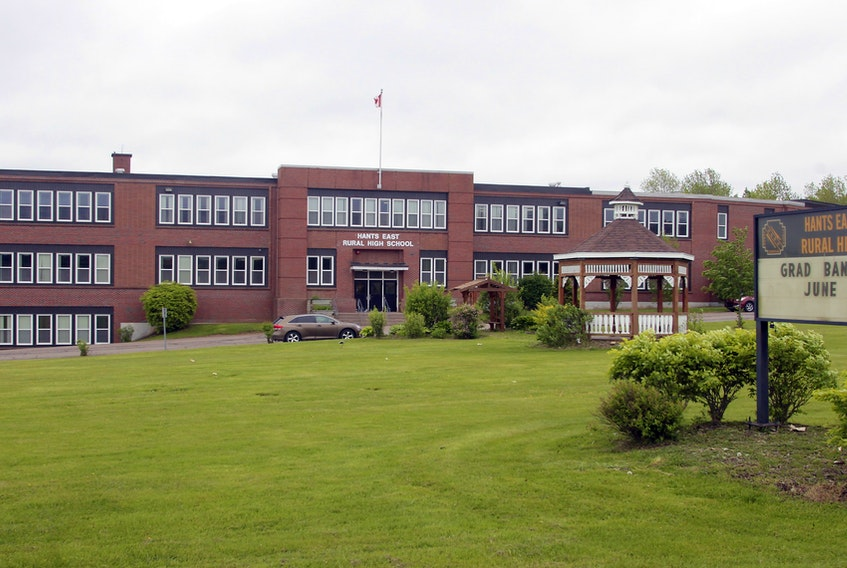 Hants East Rural High School is shown in this undated file photo.