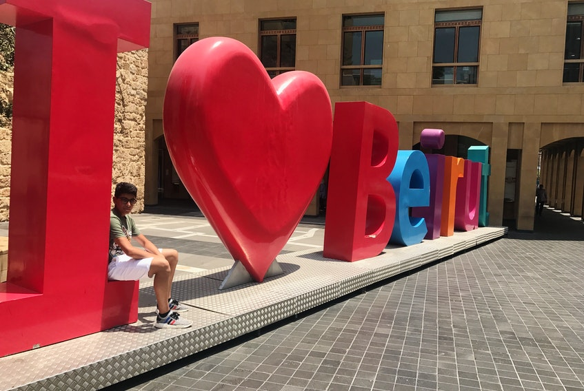 Halifax student Jaden Lawen started a fundraiser in August to support the Canadian Red Cross' Beirut relief efforts. To date, his Halifax to Beirut with Love fundraiser has raised nearly $100,000.