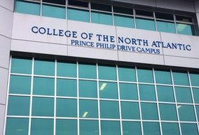 College of North Atlantic's Prince Philip Drive campus in St. John's.