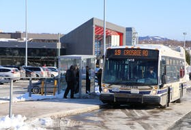 Metrobus is back in operation today. From now until Feb. 7, rides will be free for all Metrobus and GoBus users as the City of St. John's encourages commuters to try the bus and to leave their cars at home during the continued cleanup from last weekend's major snowstorm. Glen Whiffen/The Telegram
