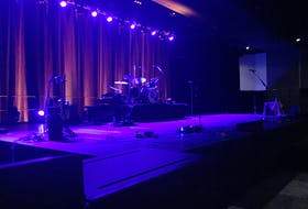 The stage is set for Alan Doyle and His Beautiful Band's shows this weekend at the Halifax Convention Centre. The raucous St. John's showman will be playing to a seated, physically distanced crowd observing COVID-19 health safety restrictions, but for now that's the only way the show can go on.