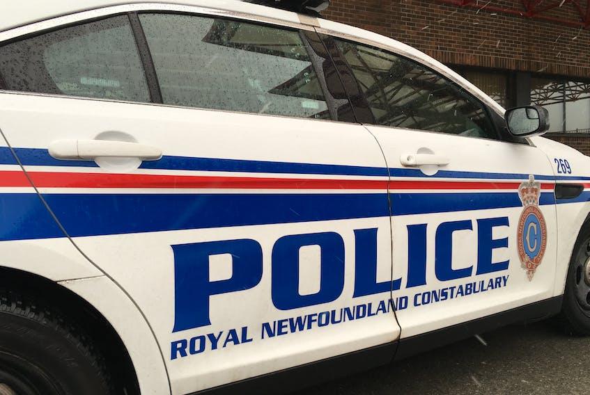 A Royal Newfoundland Constabulary vehicle.