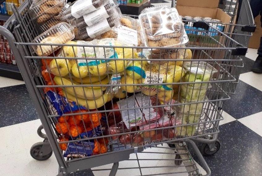 Coleman's Grocery store in Rabbittown opened up briefly for on Saturday night to provide food for Newfoundland Power crews who had been working around the clock restoring power, but had run out of supplies.