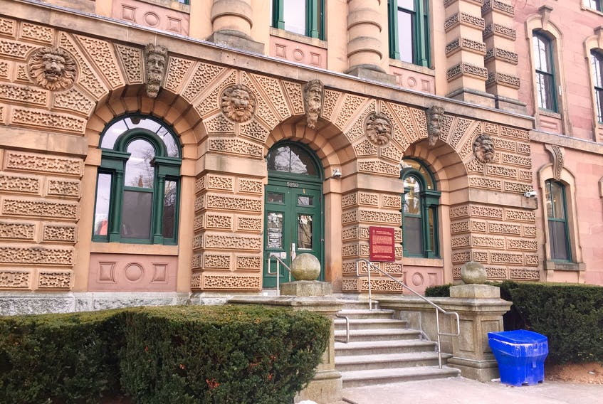 The Halifax provincial courthouse on Spring Garden Road is shown in this Dec. 30, 2019, photo.