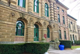 The Halifax provincial courthouse on Spring Garden Road.