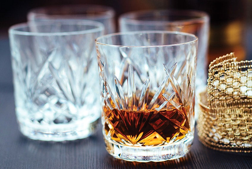 NovaScotian Crystal Whiskey Tumbler