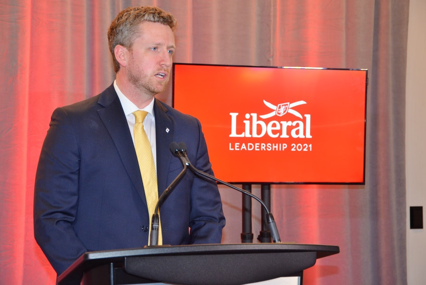 Iain Rankin won the Nova Scotia Liberal party leadership Saturday. He will be sworn in as premier within the next couple of weeks.