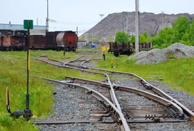 Shown above in this file photo is a view toward the Cape Breton and Central Nova Scotia's rail operations off Ferry Street in Sydney's north end. The railway had been owned by shortline rail operator Genesee & Wyoming before the company was bought in a US$6.3-billion deal by an affiliate of Brookfield Asset Management Inc. last summer. CAPE BRETON POST