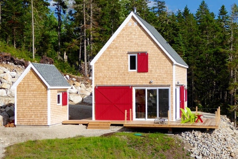 """Interhabs has been building homes since 1975 — like this """"Barn"""" model —  turning their clients' dreams into beautiful realities. - Photo Contributed."""