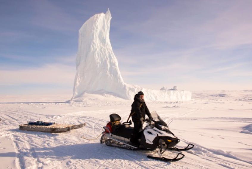 Memorial University's SmartICE project has received international recognition for its innovative approach to finding safer routes for travelling on thinning sea ice caused by global warming. Photo taken from the website of United Nations Framework Convention on Climate Change.