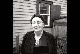 Charlotte Decker, Parson's Pond. Photo by Kenneth Peacock, 1959/Canadian Museum of History, J16266