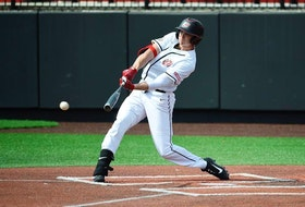 Dartmouth slugger Jake Sanford was taken with the 103rd pick of the MLB draft by the New York Yankees on Tuesday. Sanford had a breakout season with Western Kentucky University in the NCAA. (Steve Roberts / WKU Athletics)