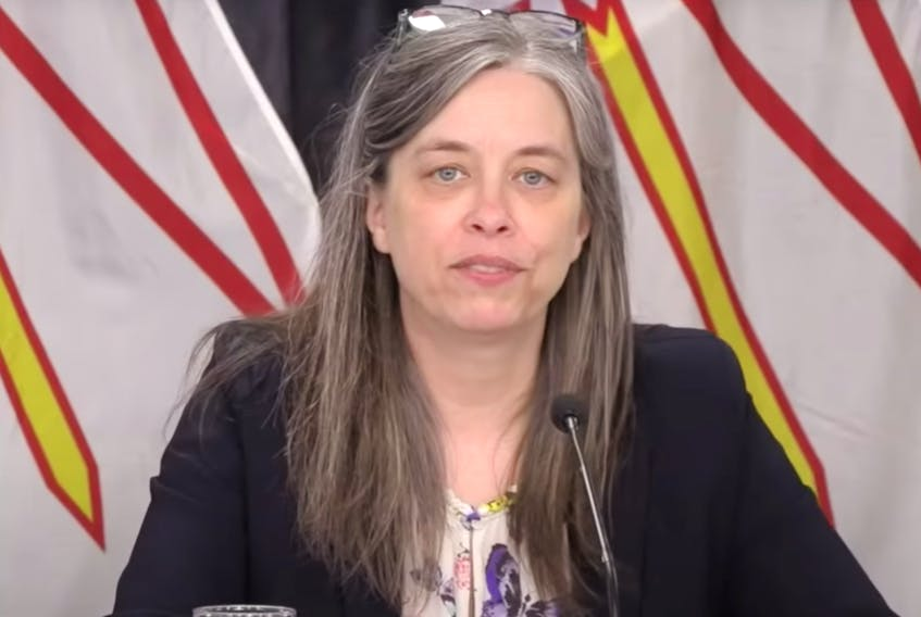Dr. Janice Fitzgerald, N.L. Chief Medical Officer of Health.