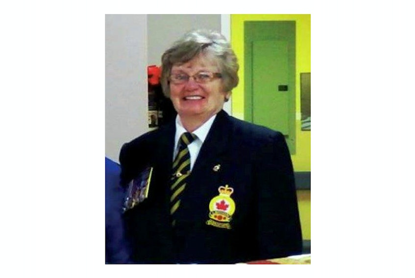 Jean Stevens is past provincial president of the Royal Canadian Legion's Ladies' Auxiliaries in New Brunswick.