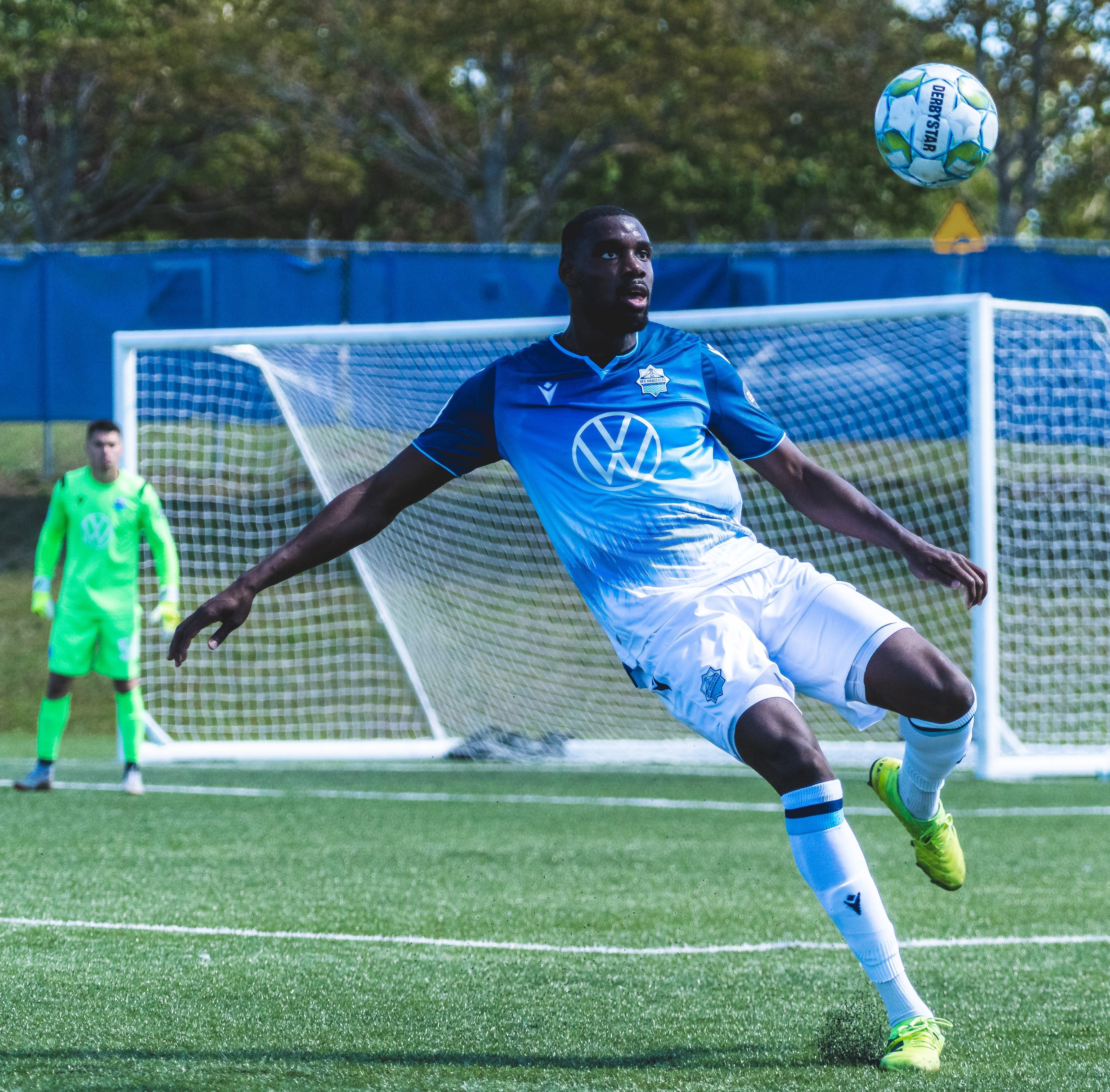 Jems Geffrard was an anchor on the HFX Wanderers' backline during last summer's Island Games tournament in Charlottetown, Geffrard played every minute of every match as the Wanderers marched to the Canadian Premier League final. - HFX Wanderers