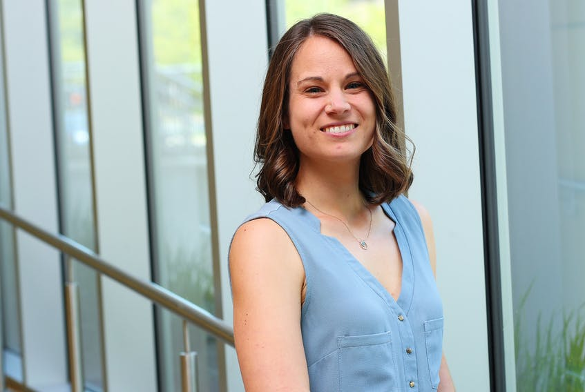 Justine Dol is leading research into the experiences of pregnant women in Nova Scotia during the pandemic.