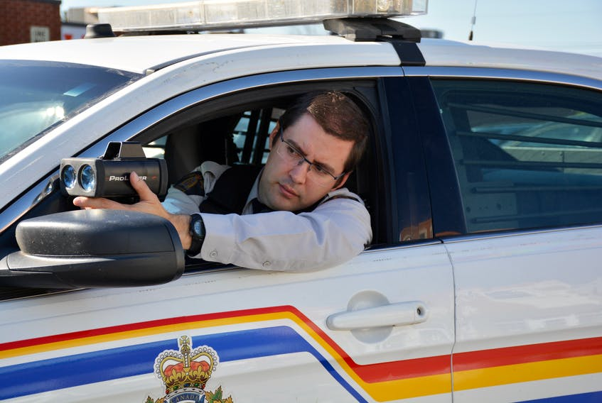 Const. Andrew Turpin with the Windsor RCMP is keeping a closer eye on intersections during the month of October as part of a province-wide effort to enhance safety for pedestrians and motorists.