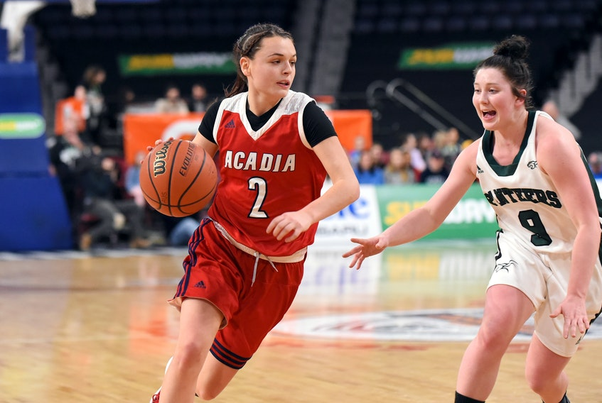Haley McDonald has set a new record for the highest-ever number of points in a single season as an Axewoman with the Acadia University women's basketball team. She scored 465 points in the 2018-19 season.