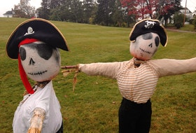 The Pumpkin People will be on display throughout the Town of Kentville from Oct. 3-30, 2020. - Photo Contributed.